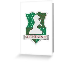 Slythendor Greeting Card