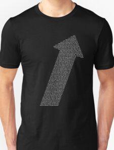 The Written Direction Unisex T-Shirt