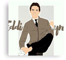 Eddie Redmayne Canvas Print