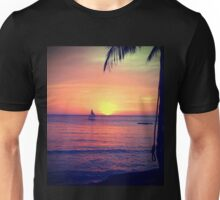 Sunset on White Beach - Boracay Island Unisex T-Shirt