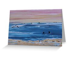 Sunday Surf  Greeting Card