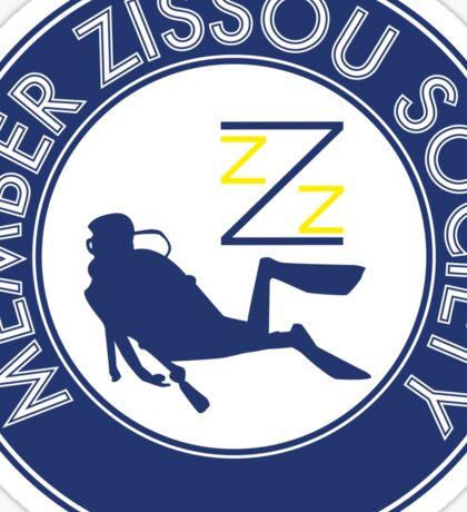 Member Zissou Society (detailed) Sticker