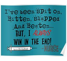 Hilarious Nurse Quote Poster