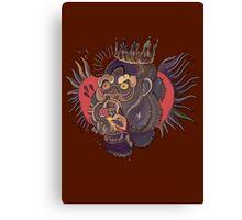 Conor Mcgregor Gorilla Tattoo (brown) Canvas Print