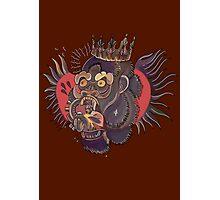 Conor Mcgregor Gorilla Tattoo (brown) Photographic Print