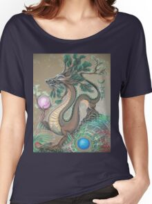 DRAGON - EARTH ELEMENT Women's Relaxed Fit T-Shirt