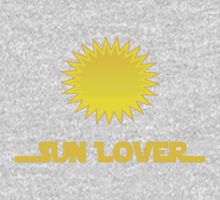 Renewable Energy - Sun Lover T-Shirt Decal One Piece - Long Sleeve