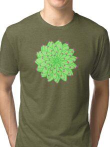 Green Cactus Tri-blend T-Shirt