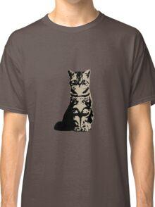 Kitty Cat (Brown) Classic T-Shirt