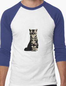 Kitty Cat (Brown) Men's Baseball ¾ T-Shirt