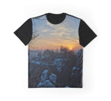 """Good Morning Rock Castle Rathen"" Graphic T-Shirt"