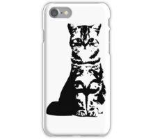 Kitty Cat (White) iPhone Case/Skin