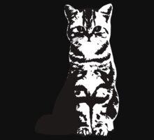 Kitty Cat (White) Kids Tee