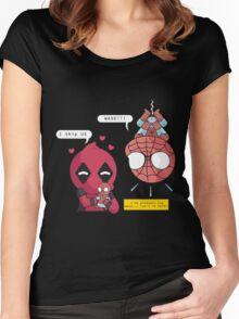 Superhero Ship Women's Fitted Scoop T-Shirt