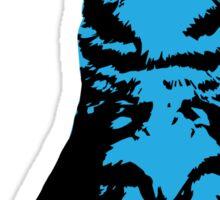 Kitty Cat (Blue) Sticker