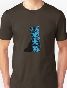 Kitty Cat (Blue) Unisex T-Shirt