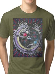 DRAGON - SPIRIT / ETHER ELEMENT Tri-blend T-Shirt