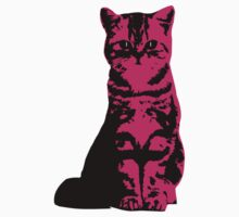 Kitty Cat (Pink) One Piece - Short Sleeve