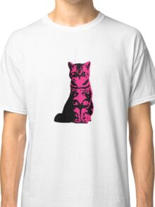 Kitty Cat (Pink) Classic T-Shirt