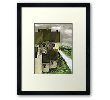 LANDSCAPE -1C  2016 by Ashley Pandita  Framed Print