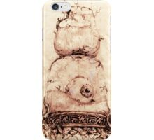 TIME SEES EVERYTHING iPhone Case/Skin