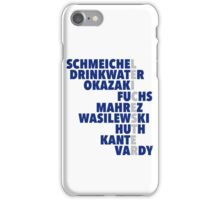 2015/16 Premier League Champions: Leicester player names iPhone Case/Skin