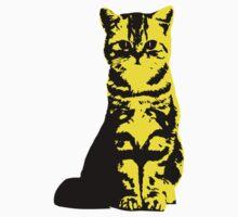 Kitty Cat (Yellow) Baby Tee