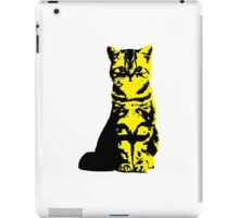 Kitty Cat (Yellow) iPad Case/Skin