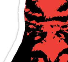 Kitty Cat (Red) Sticker