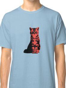Kitty Cat (Red) Classic T-Shirt