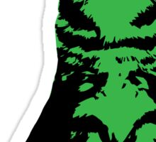 Kitty Cat (Green) Sticker