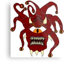 THE BEHOLDER- DUNGEONS AND DRAGONS Metal Print