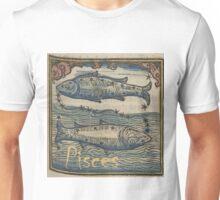 Pisces Woodcut Unisex T-Shirt
