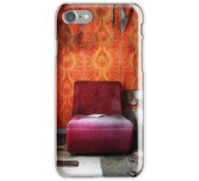 27.2.2016: Amrchair in Abandoned Farm House iPhone Case/Skin