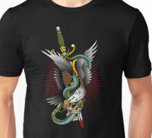 Eagle and snake tatoo design Unisex T-Shirt