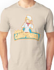 Saber's Canned Spaghetti  Unisex T-Shirt