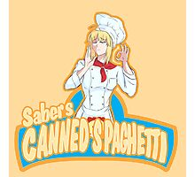 Saber's Canned Spaghetti  Photographic Print