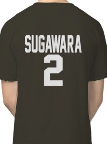 Haikyuu!! JerseySuga Number 2 (Karasuno) Classic T-Shirt