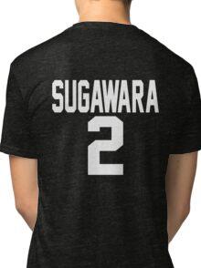 Haikyuu!! JerseySuga Number 2 (Karasuno) Tri-blend T-Shirt