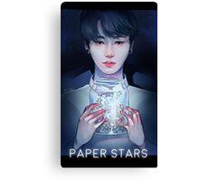 Paper Stars Canvas Print