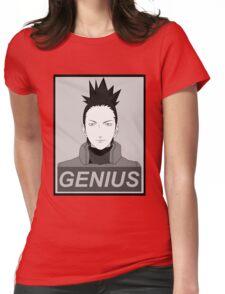True Genius  Womens Fitted T-Shirt