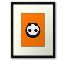 A most minimalist Panda Framed Print