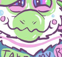 Gummy Guts - 'You take my breath away!' Sticker