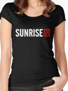 Sunrise Avenue Women's Fitted Scoop T-Shirt