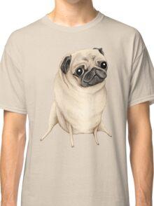 Sweet Fawn Pug Classic T-Shirt