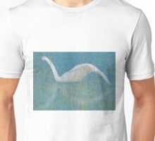 A swan in the reeds Unisex T-Shirt