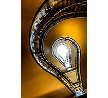 Cubist staircase Photographic Print