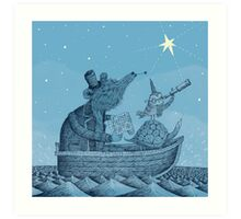 The North Star Art Print