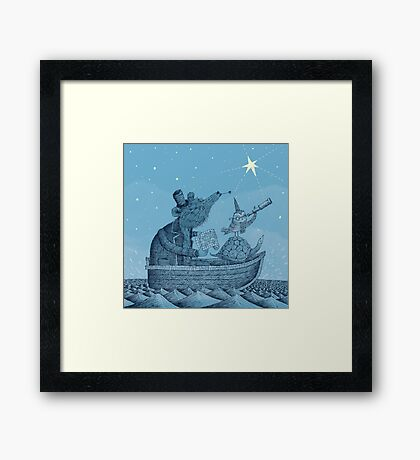 The North Star Framed Print