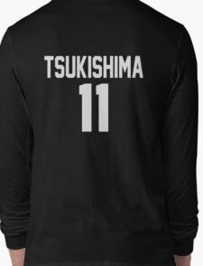 Haikyuu!! Jersey Tsukishima Number 11 (Karasuno) Long Sleeve T-Shirt